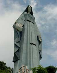 La virgen de los Andes venezolanos