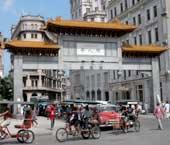 Un barrio chino en La Habana
